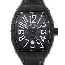 法兰克穆勒 Vanguard Titanium Black Automatic V 45 Sc Dt Black Cobra...