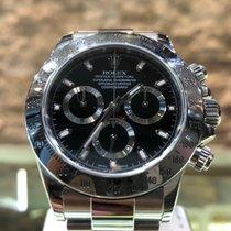Rolex Daytona Staal 40mm Geen cijfers