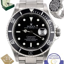 Rolex 2010 ENGRAVED MINT Rolex Submariner Date 16610 Stainless...