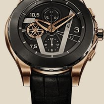Valbray Chronograph 46mm Automatic new Black