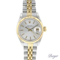 Rolex Chronometer 26mm Automatisch 1984 tweedehands Lady-Datejust Zilver
