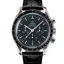 Omega Steel Manual winding Black new Speedmaster Professional Moonwatch