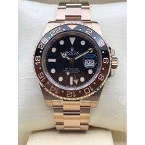 Rolex GMT-Master II Rose gold 40mm Black No numerals Australia, Sydney
