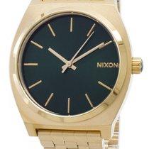 Nixon Gold/Steel 37mm Quartz A045-1919-00 new