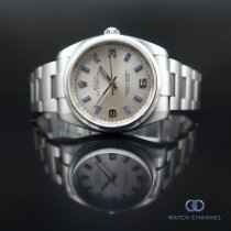 Rolex Oyster Perpetual 34 Steel 34mm Silver Arabic numerals South Africa, Johannesburg