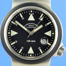 Mühle Glashütte Steel 42mm Automatic M1-41-03 pre-owned