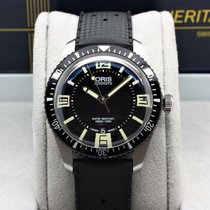 Oris Divers Sixty Five pre-owned 40mm Black Rubber
