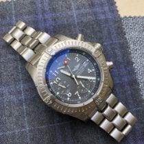 Breitling Super Avenger pre-owned Chronograph Date Titanium