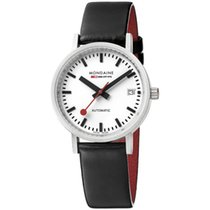 Mondaine Women's watch Classic 33mm new Watch with original box and original papers