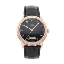 Parmigiani Fleurier Toric Rose gold 40.8mm Black Arabic numerals United States of America, Pennsylvania, Bala Cynwyd