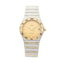 Omega Constellation Steel 33.5mm Gold No numerals United States of America, Pennsylvania, Bala Cynwyd