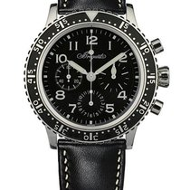 Breguet Type XX - XXI - XXII Steel 39mm Black Arabic numerals