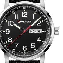 Wenger Acier 42mm Quartz 01.1541.105 nouveau
