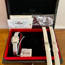 Tissot T-Wave Steel 23.60mm White Arabic numerals