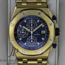 Audemars Piguet Royal Oak Offshore Chronograph Gelbgold 44mm Blau Keine Ziffern Deutschland, München