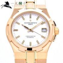 Vacheron Constantin Overseas Gelbgold 37mm Weiß
