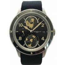 Montblanc Steel 42mm Automatic 117837 new