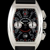 Franck Muller Steel 34mm Automatic 8002 CC pre-owned United Kingdom, London