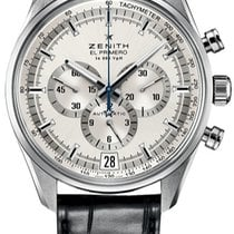 Zenith El Primero 36'000 VpH Steel Silver United States of America, New York, Brooklyn