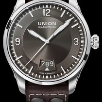 Union Glashütte Belisar Pilot Steel 41mm Grey Arabic numerals