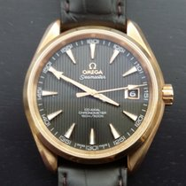 Omega Seamaster Aqua Terra Red gold 42mm Grey No numerals