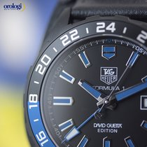 TAG Heuer Men's Formula 1 David Guetta Black and Blue Special...