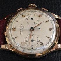 Universal Genève Chronograph vintage 37 mm 18k pink Gold