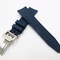 萬國 IWC New 22/18mm Rubber Strap Silicon Replacement Band for...