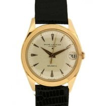 名士 (Baume & Mercier) Incabloc Baumatic In Oro Giallo E...