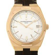 Vacheron Constantin Overseas 18k Rose Gold Silver Automatic...