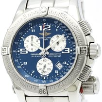 Breitling Emergency Mission Steel Quartz Mens Watch A73321...