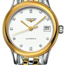 Longines Flagship Unworn Gold/Steel 26mm Automatic