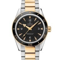 Omega Seamaster 300 Gold/Steel 41mm Black