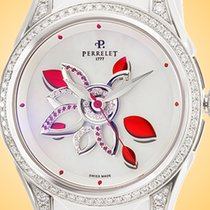 Perrelet 38mm Automatic Diamond Flower Mother of pearl