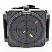 Bell & Ross BR01-92-Radar Automatic Black Carbon Watch