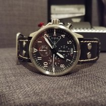 Junkers Chronograph 42mm Automatic 2016 pre-owned Black