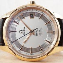 Omega De Ville Hour Vision pre-owned 41mm Rose gold