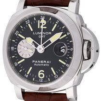 Panerai : Luminor GMT :  PAM 88 :  Stainless Steel automatic...