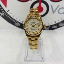 Rolex Oro amarillo Automático Árabes 26mm usados Lady-Datejust