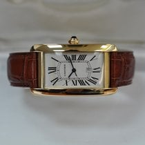 Cartier Tank Américaine pre-owned 27mm Yellow gold