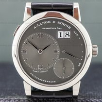 A. Lange & Söhne Lange 1 tweedehands 38.5mm Witgoud
