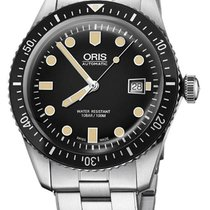 Oris 42mm Automatic new Divers Sixty Five Black