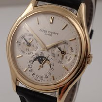 Patek Philippe 3940J Yellow gold 1996 Perpetual Calendar 36mm pre-owned United States of America, Florida, Orlando