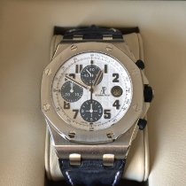 Audemars Piguet Royal Oak Offshore Chronograph Acél 42mm Fehér Arab