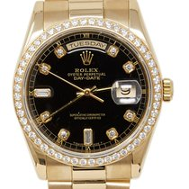 Rolex 118348 Yellow gold 2001 Day-Date 36 36mm pre-owned United States of America, California, Los Angeles