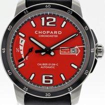 Chopard Mille Miglia gebraucht 43mm Rot Datum Leder