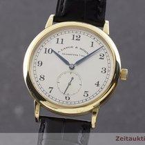 A. Lange & Söhne 36mm Χειροκίνητη εκκαθάριση R206 μεταχειρισμένο