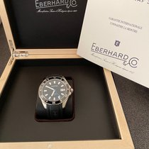 Eberhard & Co. Scafograf 300 Steel 43mm Black