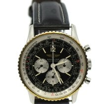 Breitling Navitimer Cosmonaute Steel 41mm Black Arabic numerals United States of America, New York, New York