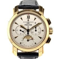Vacheron Constantin Malte Yellow gold 39mm Silver No numerals United States of America, New York, New York